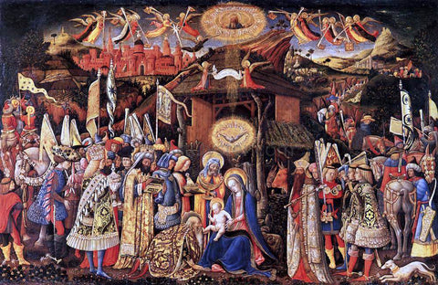 Antonio Vivarini Adoration of the Magi - Hand Painted Oil Painting