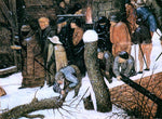 The Younger Pieter Brueghel Adoration of the Magi (detail) - Hand Painted Oil Painting