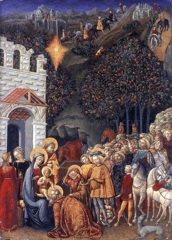 Michele di Michele Ciampanti Adoration of the Magi - Hand Painted Oil Painting
