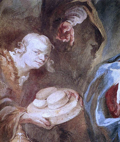 Franz Anton Maulbertsch Adoration of the Shepherds (detail) - Hand Painted Oil Painting
