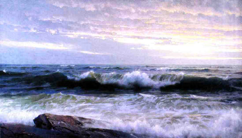 William Trost Richards After a Stormy Day - Hand Painted Oil Painting