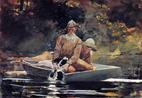 Winslow Homer After the Hunt - Hand Painted Oil Painting