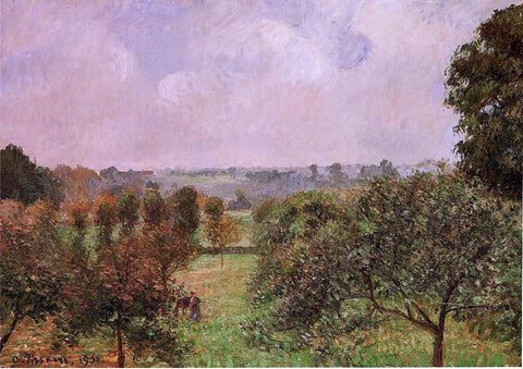 Camille Pissarro After the Rain, Autumn, Eragny - Hand Painted Oil Painting