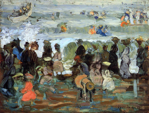 Maurice Prendergast After the Storm - Hand Painted Oil Painting