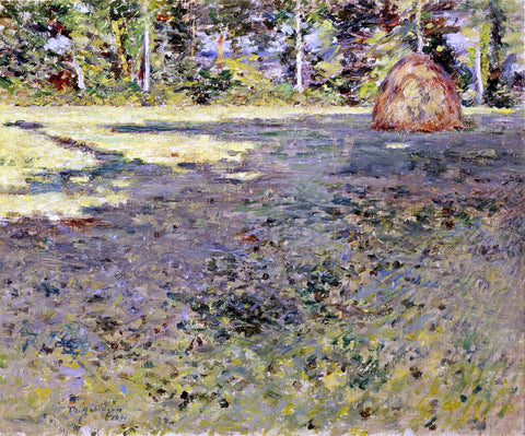 Theodore Robinson Afternoon Shadows - Hand Painted Oil Painting