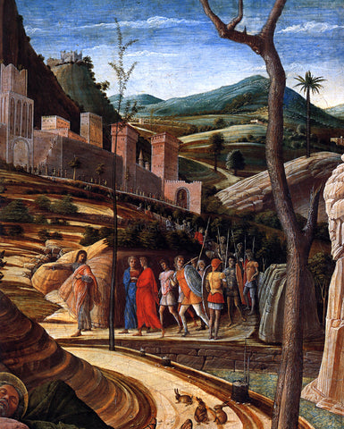 Andrea Mantegna Agony in the Garden [detail] - Hand Painted Oil Painting