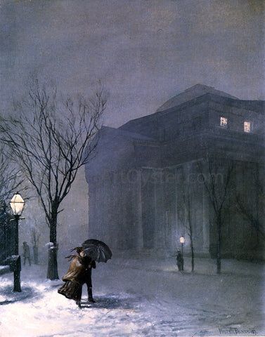 Walter Launt Palmer Albany in the Snow - Hand Painted Oil Painting