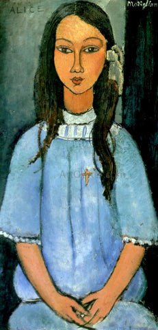 Amedeo Modigliani Alice - Hand Painted Oil Painting