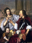 Jan De Bray Allegorical Family Portrait - Hand Painted Oil Painting