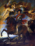 Diego Velazquez Allegorical Portrait of Philip IV - Hand Painted Oil Painting