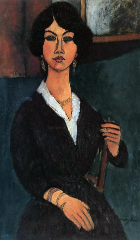 Amedeo Modigliani Almaisa - Hand Painted Oil Painting