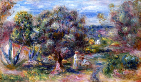 Pierre Auguste Renoir Aloe, Picking at Cagnes - Hand Painted Oil Painting