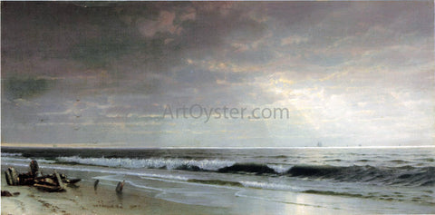 William Trost Richards Along the Atlantic - Hand Painted Oil Painting