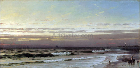 William Trost Richards Along the Atlantic Coast - Hand Painted Oil Painting