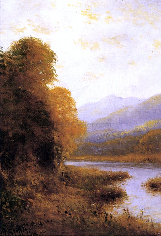 Thomas Bartholomew Griffin Along the Banks - Hand Painted Oil Painting