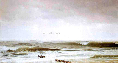William Trost Richards Along the Shore - Hand Painted Oil Painting