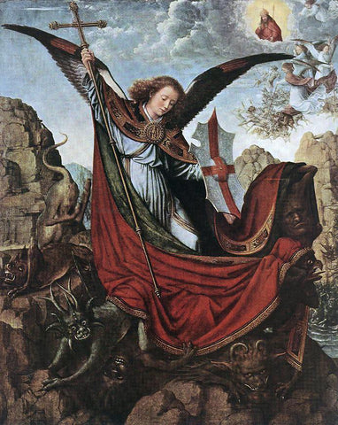Gerard David Altarpiece of St Michael - Hand Painted Oil Painting