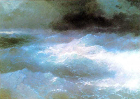 Ivan Constantinovich Aivazovsky Among the Waves - Hand Painted Oil Painting