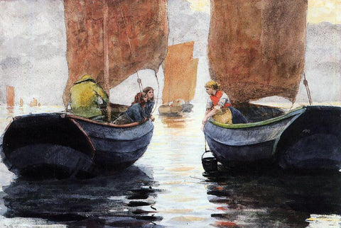 Winslow Homer An Afterglow - Hand Painted Oil Painting