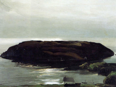 George Wesley Bellows An Island in the Sea - Hand Painted Oil Painting