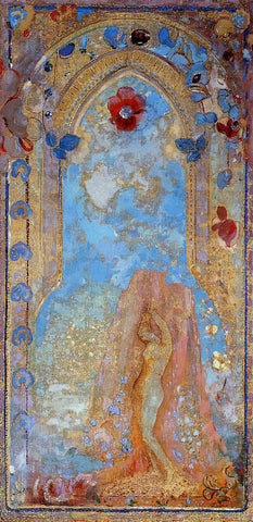Odilon Redon Andromeda - Hand Painted Oil Painting