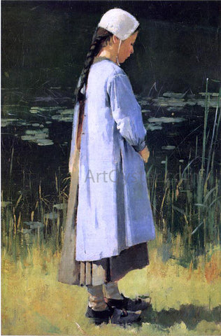 Theodore Robinson Angelus - Hand Painted Oil Painting