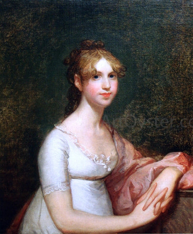 Gilbert Stuart Anna Powell Mason - Hand Painted Oil Painting