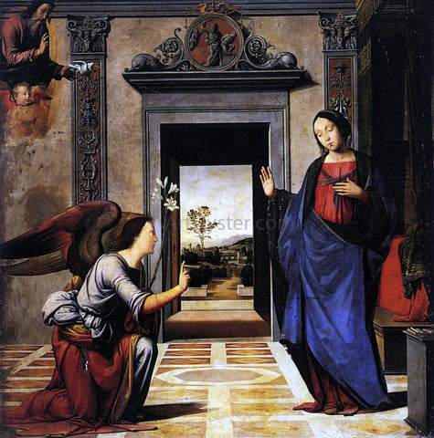 Fra Bartolomeo Annunciation - Hand Painted Oil Painting