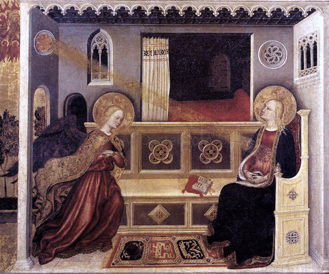 Gentile Da Fabriano Annunciation - Hand Painted Oil Painting
