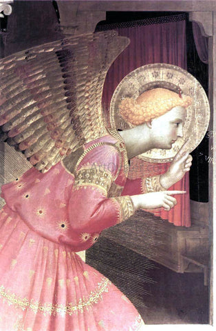 Fra Angelico Annunciation (detail 1) (The Cortona Altarpiece) - Hand Painted Oil Painting
