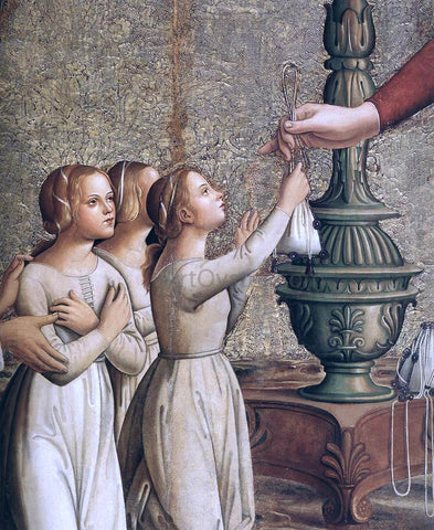 Antoniazzo Romano Annunciation (detail) - Hand Painted Oil Painting