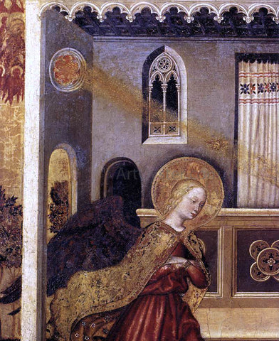 Gentile Da Fabriano Annunciation (detail) - Hand Painted Oil Painting
