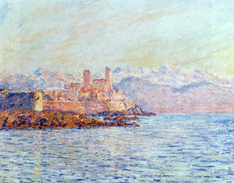 Claude Oscar Monet Antibes - Hand Painted Oil Painting