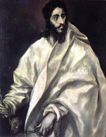 El Greco Apostle St Bartholomew - Hand Painted Oil Painting