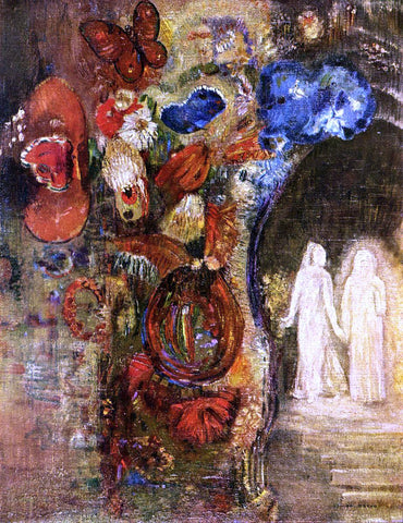 Odilon Redon Apparition - Hand Painted Oil Painting