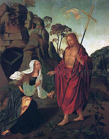 Francisco Henriques Apparition of Christ to Magdalen - Hand Painted Oil Painting