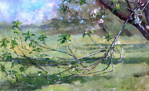 Theodore Robinson Apple Blossoms - Hand Painted Oil Painting