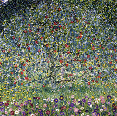 Gustav Klimt Apple Tree I - Hand Painted Oil Painting