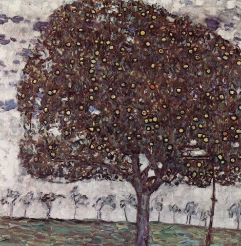 Gustav Klimt Apple Tree II - Hand Painted Oil Painting
