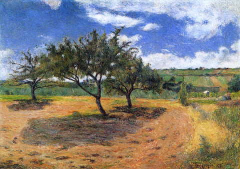 Paul Gauguin Apple Trees at l'Hermitage - Hand Painted Oil Painting