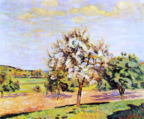 Armand Guillaumin Apple Trees in Bloom - Hand Painted Oil Painting