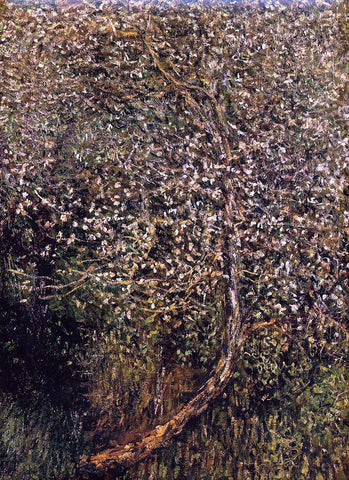 Claude Oscar Monet Apple Trees in Blossom by the Water - Hand Painted Oil Painting