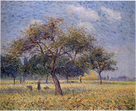 Gustave Loiseau Apple Trees in October - Hand Painted Oil Painting
