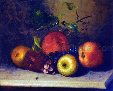 Charles Ethan Porter Apple with Fly - Hand Painted Oil Painting