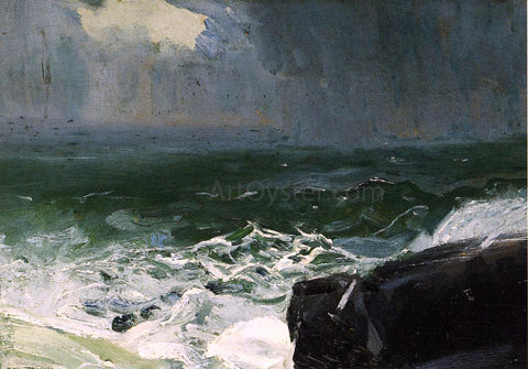 George Wesley Bellows Approach of Rain - Hand Painted Oil Painting