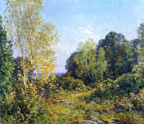 Willard Leroy Metcalf Approaching Autumn - Hand Painted Oil Painting