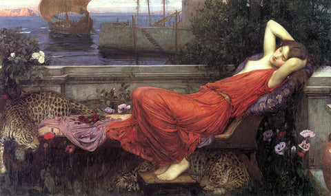 John William Waterhouse Ariadne - Hand Painted Oil Painting