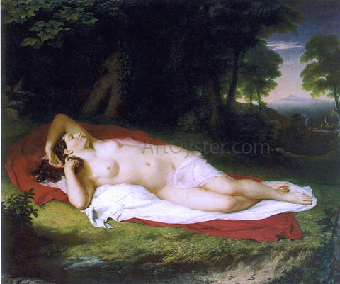 John Vanderlyn Ariadne Asleep on the Island of Naxos - Hand Painted Oil Painting