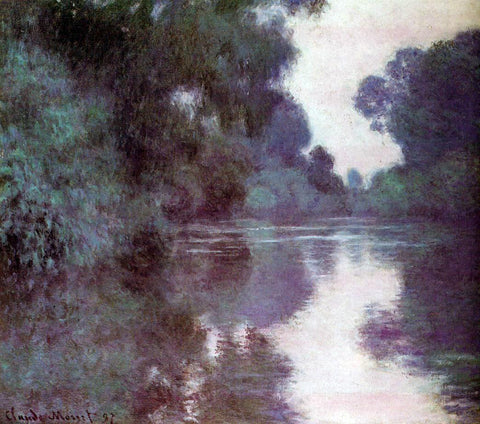 Claude Oscar Monet Arm of the Seine near Giverny - Hand Painted Oil Painting