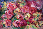 Pierre Auguste Renoir Armful of Roses - Hand Painted Oil Painting